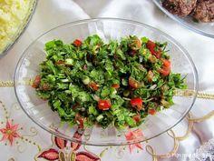Yeşil salata (Turkse salade met groene kruiden)