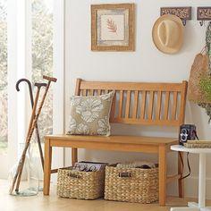 Tok&Stok Regional Puro Tons de madeira e fibra natural se combinam nesta decoração leve e aconchegante.