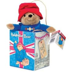Paddington Bear in a Union Jack Gift Bag – Modo Creations