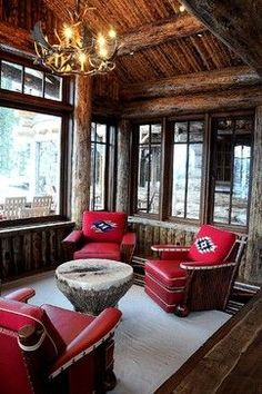 Ideas 5 More Chair Idea Rustic Family Rooms Peace Design Living Room