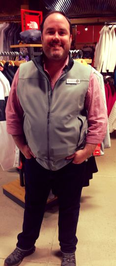 2862c4f09b8 Downtown J employee Brandon rocked Gearhead Outfitters head to toe in a  Patagonia Adze vest and