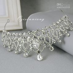 Wholesale Bridal Crown - Buy High Quality Stunning Big Size Rinestore Bridal Tiara Crown Wedding Bridal Hair Accessory Bridal Headpiece, $26.36 | DHgate