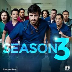 If you are fans of The Night Shift TV show of NBC, then get ready to watch The Night Shift Season 3, which is going to be released on 1st June 2016 at 10 pm on NBC.