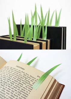 a garden of bookmarks