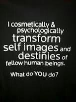 Cosmetology- Haha! Love it!