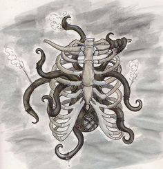 Anonymous asked:an octopus. a really interesting one. aw yis ribs.
