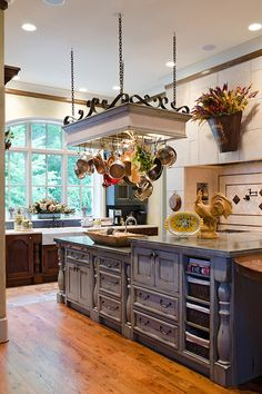 country french home | Luxurious French Country Home, Interior Design by Cabell Design Studio ...