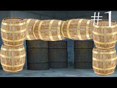 """a """"barrel of fun"""" Youtube Vidoes, Valance Curtains, Barrel, Fun, Home Decor, Decoration Home, Barrel Roll, Room Decor, Barrels"""