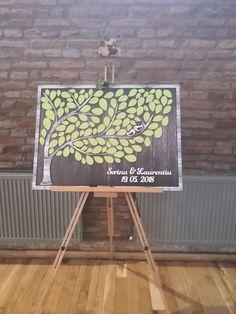 Memories tree. Nature wedding theme