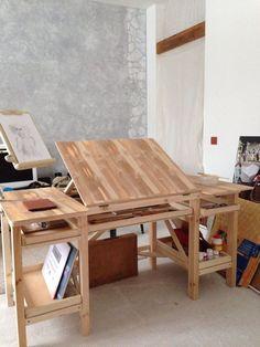 """Купить Стол-мольберт для художника """"Не жалко... - стол для творчества, стол художника, стол для живописи"""