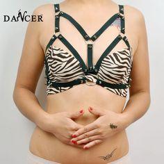 kooiconstructie-zwarte-sexy-lingerie-vrouwen-beha-harnas-gothic-fetish-kleding-stijl-harnas-bondage-kousenband-bruiloft-roos.jpg (610×610)