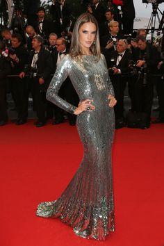 Best Dressed at The 66th Annual Cannes International Film Festival: Alessandra Ambrosio in Roberto Cavalli