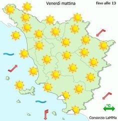 Meteo Toscana | Previsioni meteo Toscana | Consorzio LaMMA