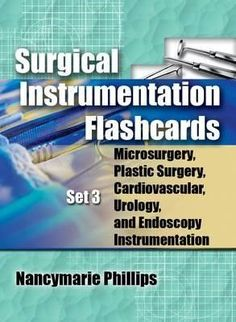 Surgical Instrument Flashcards Set 3 Microsurgery Plastic Surgery Urology and Endoscopy Instrumentation Basic Physics, Aesthetic Dermatology, Aesthetic Clinic, Process Control, Dental Assistant, Dental Care, Plastic Surgery, Textbook, Top