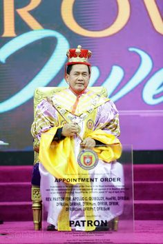 Executive Pastor Doctor Fellow Apollo C. Quiboloy, is conferred status as Patron of the Royal Institution of Singapore in a Special Global Convocation and Crowning Investiture Ceremony