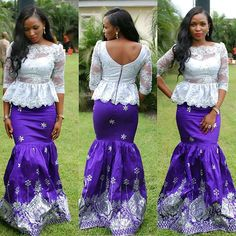 Gorgeous Aso-Ebi Trends for the Bold and Fashion Forward Style Lovers - Wedding Digest NaijaWedding Digest Naija African Fashion Designers, African Inspired Fashion, African Print Fashion, African Fashion Dresses, African Wedding Attire, African Attire, African Wear, African Style, African Beauty