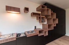 Sheriff Design added a new photo. Shelving Design, Shelf Design, Home Interior Design, Interior Architecture, Modern Furniture, Furniture Design, Living Room Modern, Interior Inspiration, Shelves