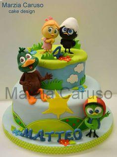 Calimero cake