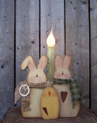 bunny trio light pattern