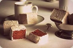 French marshmallows, incredibly soft with a sophisticated blast of chocolate.