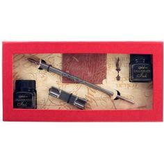 Manuscript Metal Kalem + 2 Mürekkep + 2 Uç Set