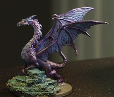 「legend of drizzt board game miniatures painted」の画像検索結果 Shadow Dragon, Dragon Miniatures, Fantasy Miniatures, Clay Dragon, Dragon Art, Mini Paintings, Cool Paintings, Dungeons And Dragons Figures, Fantasy Craft