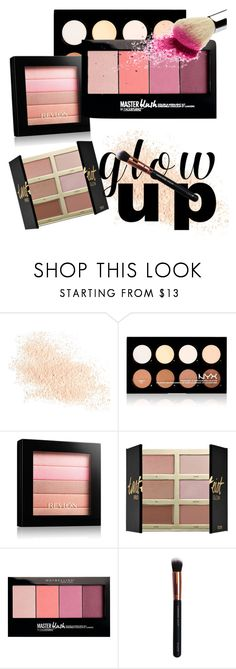 """""""Glow Up Pro Glow"""" by fashionswagstyle ❤ liked on Polyvore featuring beauty, Eve Lom, NYX, Revlon, tarte, Maybelline and M.O.T.D Cosmetics"""