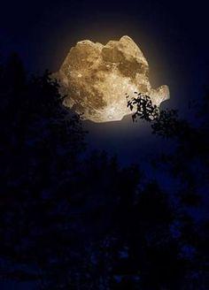 The #moon of #Romania!