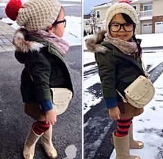 Her boots, too cute