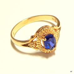 Hey, I found this really awesome Etsy listing at https://www.etsy.com/listing/192467639/10k-solid-gold-vintage-ring-rare-color
