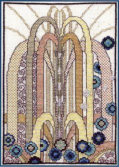 Cascade Cross Stitch Kit by Barbara Thompson