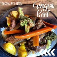 Recipe Nadias' Ginger Beef by Thermomix with Nadia - Recipe of category Main dishes - meat Other Recipes, Meat Recipes, Gluten Free Recipes, Asian Recipes, Recipies, Ginger Beef, Oyster Sauce, Recipe Community, Asian Cooking