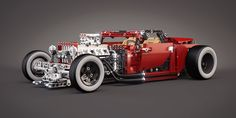 LEGO 8070 (B model) - Hot Rod - Tuning by meszimate.deviantart.com on @deviantART