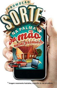 Promoção Sorte na Palma da Mão Oi - Natal Premiado - www.netpromos.com.br - NetPromos