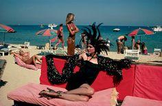 YSL, Saint Tropez, Helmut Newton, 1978