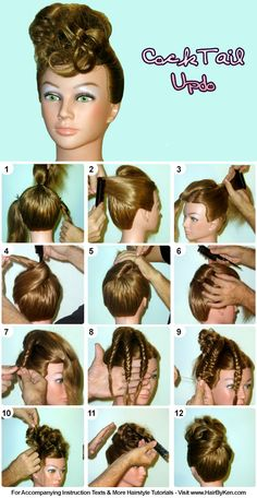 Tutorial: Cocktail Updo