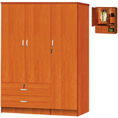 3 Door 2 Drawer Wardrobe HID2080(HOFS150) Http://www.