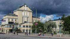 Tampere-Hämeensilta, ja Tampereen teatteri Finland, Mansions, House Styles, Manor Houses, Villas, Mansion, Palaces, Mansion Houses, Villa