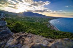 Thessaloniki, Beautiful Scenery, Travel Goals, Greece, Landscapes, Bucket, Adventure, Mountains, Beach