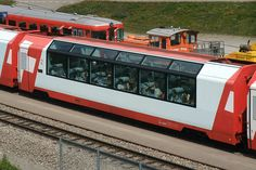 Glacier Express, Panorama coaches,  Station Oberalppass, Uri, Switzerland by Kecko, via Flickr