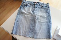 Anleitung um aus einer Hose einen Jeansrock zu nähen