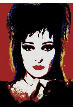 SIOUXSIE & THE BANSHEES popart poster by JustMemorabilia