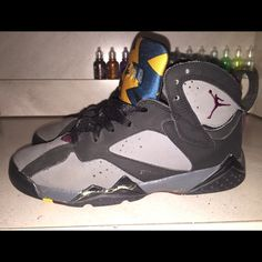 Bordeaux 7s Bordeaux 7s with some creases,paint coming out in some areas Jordan Shoes Sneakers
