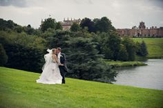 A recent happy couple enjoying the 'Finest View in England' at Blenheim Palace