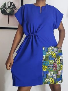 African Attire, African Fashion Dresses, African Dress, Ankara Gown Styles, Ankara Gowns, I Dress, Dress Outfits, Fashion Outfits, Dresses For Work