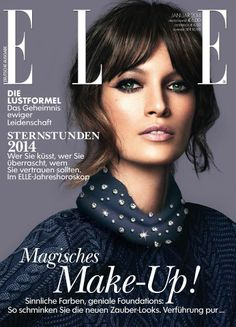 Jelena Kovacic - Elle Magazine Cover [Germany] (January 2014)