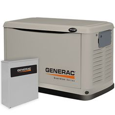 Generac Guardian™ 11kW Standby Generator System (200A Service Disconnect + AC Shedding) Model 6438
