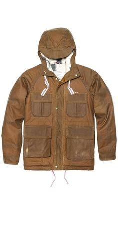 Maison Kitsune Parker Field Coat Raincoat, Winter Jackets, Golf, Stuff To Buy, Coats, Fashion, Rain Jacket, Winter Coats, Moda