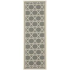 @Overstock - Perfect for any backyard, patio, deck or along the pool, this rug is great for outdoor use as well as any indoor use that requires an easy to maintain rug. This rug has a Dark Grey background and displays stunning panel color of Beige.http://www.overstock.com/Home-Garden/Poolside-Dark-Grey-Beige-Indoor-Outdoor-Rug-24-x-911/6599835/product.html?CID=214117 $58.99