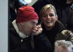 Prince Albert of Monaco with his new girlfriend Charlene Wittstock at the Opening ceremony of the 2006 Winter Olympics in Turin, Italy on February Get premium, high resolution news photos at Getty Images Fürstin Charlene, Princesa Charlene, Charlene Of Monaco, Princess Stephanie, Princess Caroline, Grace Kelly Wedding, Prince Albert Of Monaco, Olympic Swimmers, Queens